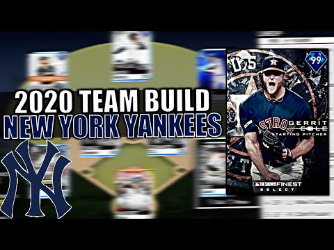 2020 NEW YORK YANKEES TEAM BUILD! WORLD SERIES WINNER? MLB T
