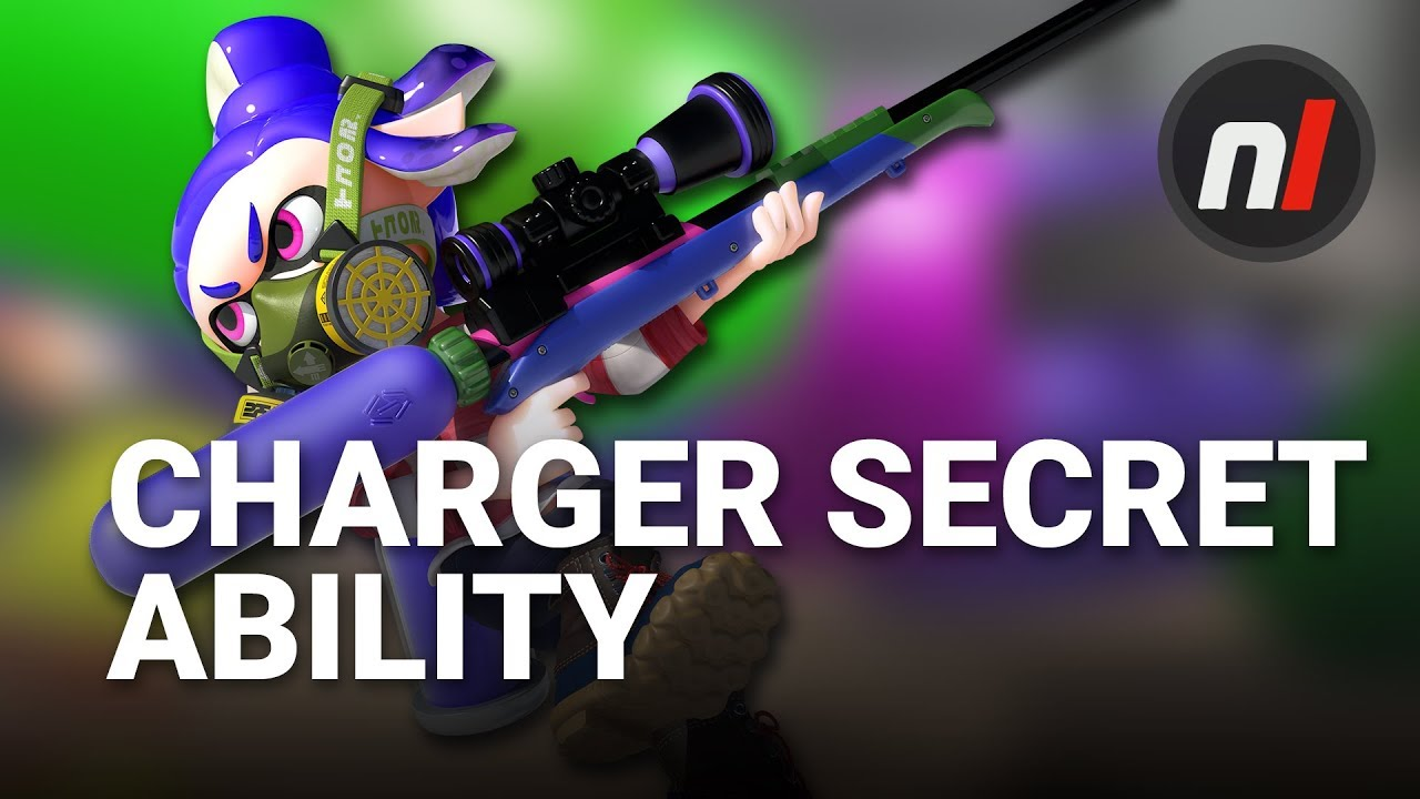 Splatoon 2's Chargers Have a Secret Ability | Splatoon 2 for Nintendo Switch