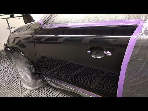 Volvo XC60: Spray Painting