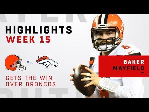Baker Mayfield Leads Huge Victory Over Broncos!