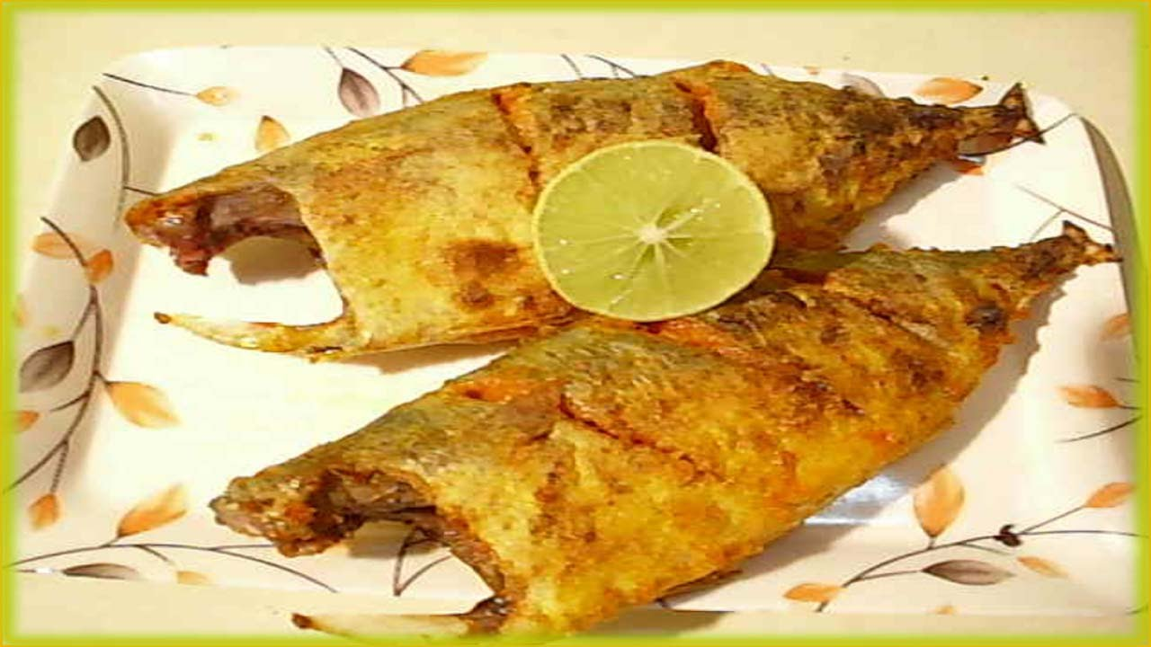 Easy fish recipe bangada fry fish fry fish curry for How to make fish fry
