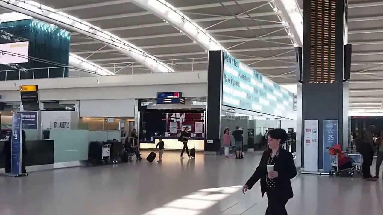 A Quick Look Around London Heathrow Lhr Terminal 5s Departure