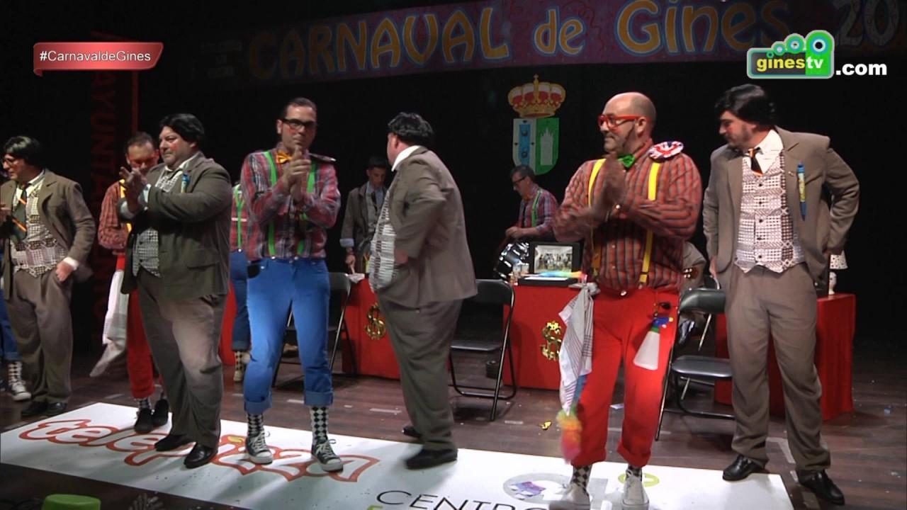 Por mis pelotas. Carnaval de Gines 2017 (Gran Final)