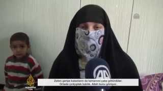 Cizre'de evi yakılan kadın yaşadıklarını anlattı