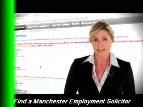 Employment Solicitor Manchester UK - What they can do