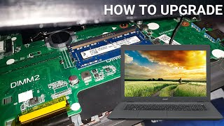 Acer Aspire E5 532 How to Upgrade the HDD and RAM Guide 2020