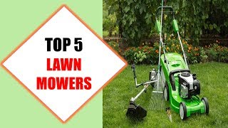 Top 5 Best Lawn Mowers 2018 | Best Lawn Mower Review By Jumpy Express