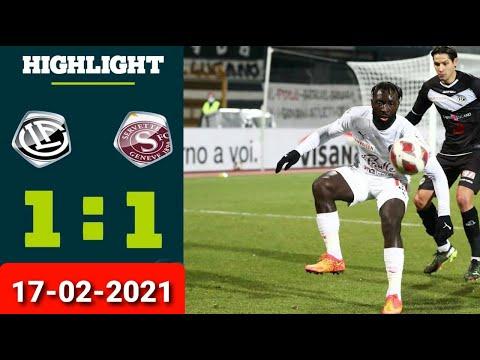 Lugano Servette Goals And Highlights