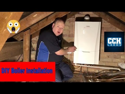 DIY Combi Boiler Installation / Day In The Life Of A Plumber / Gas Engineer