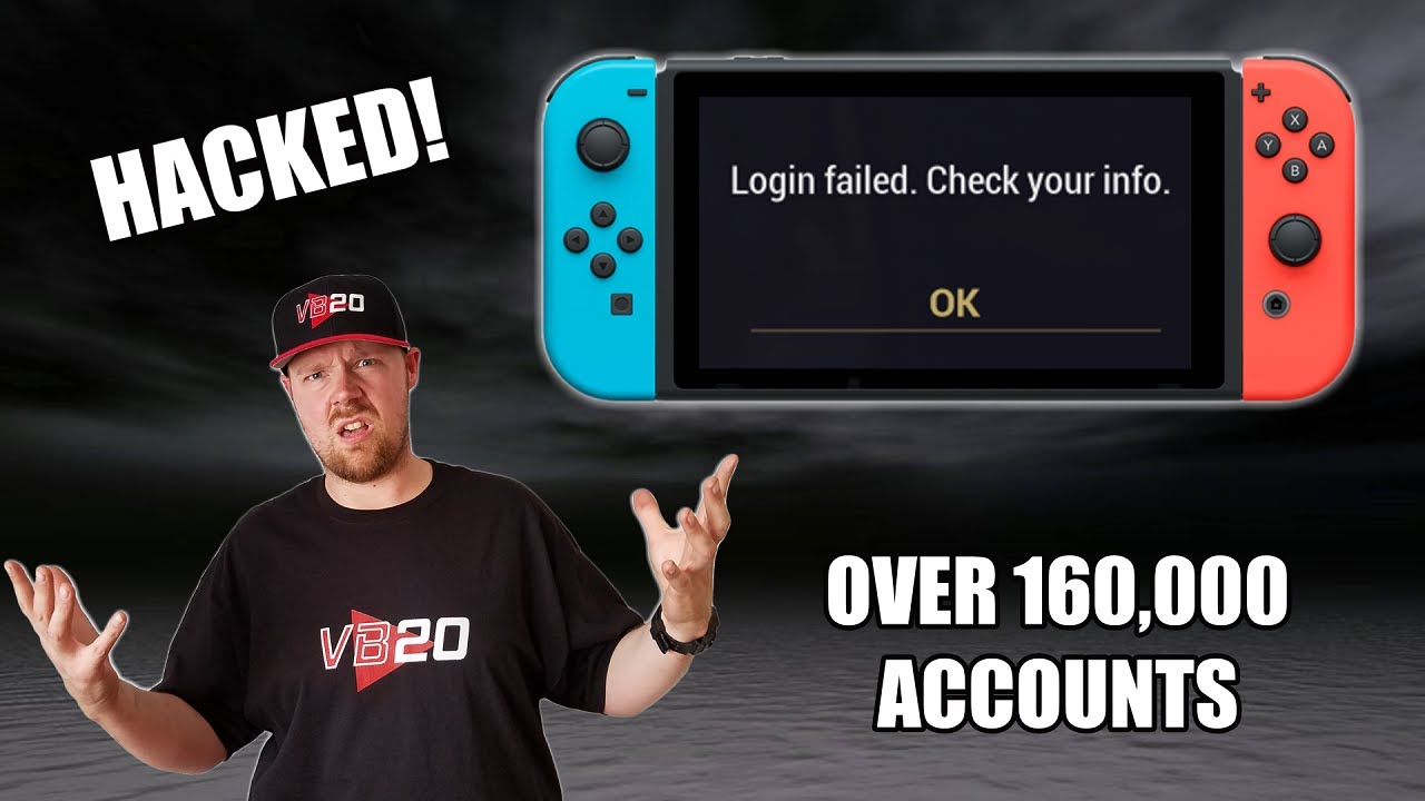 Nintendo Accounts Have Been HACKED.. WHAT YOU SHOULD DO