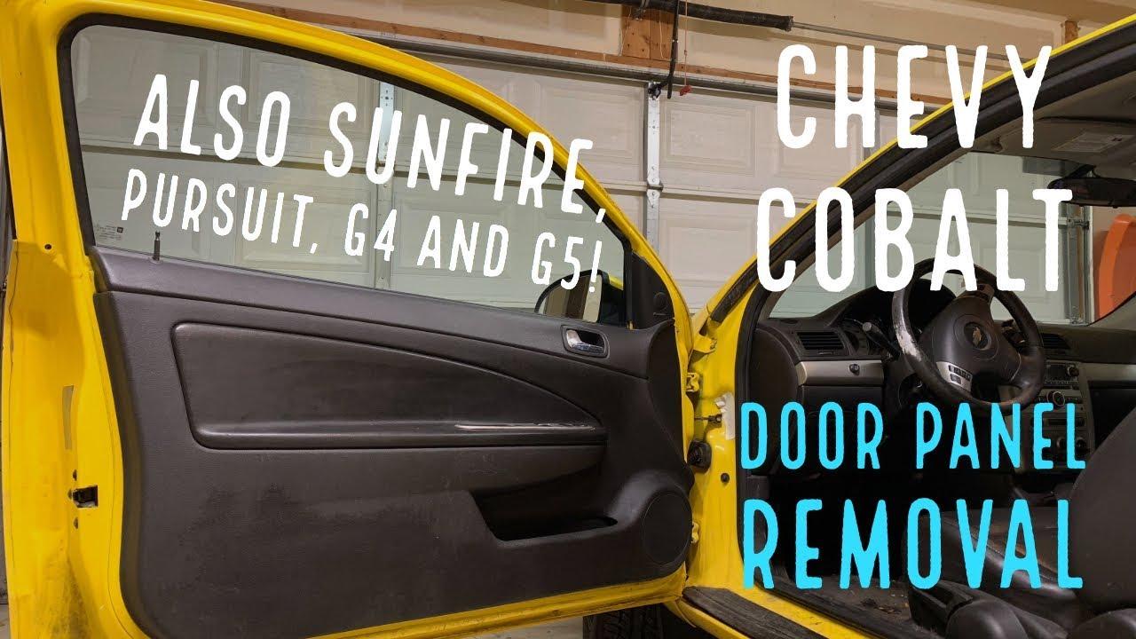 2005 Chevy Cobalt Interior Door Panel