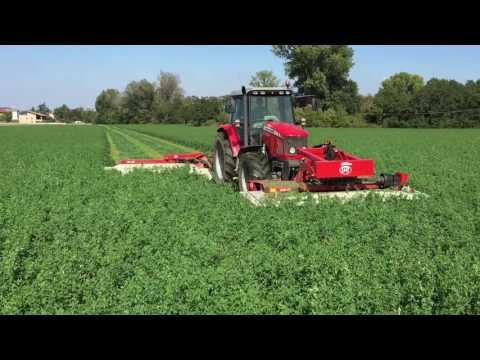 FIENAGIONE 2016  Massey Ferguson + Lely Splendimo sfalcio  (forage harvest italy )