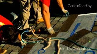 видео Битумная черепица CertainTeed