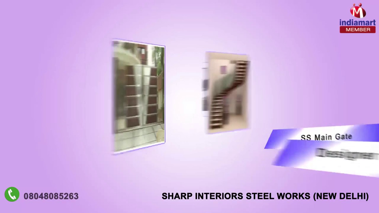 Railings And Roof Shades By Sharp Interiors Steel Works, New Delhi