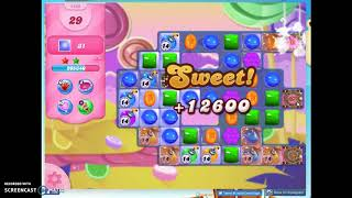 Candy Crush Level 1485 Audio Talkthrough, 3 Stars 0 Boosters