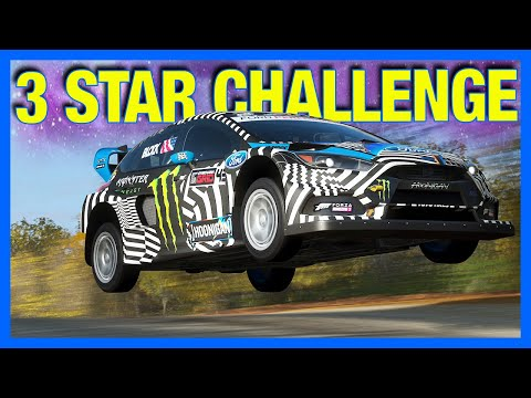 Forza Horizon 4 : The 3 Star BUDGET Offroad Challenge!!