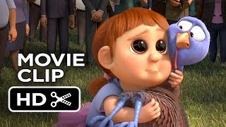 Free Birds Movie CLIP - Pardoned Turkey (2013) - Owen Wilson Animated Movie HD