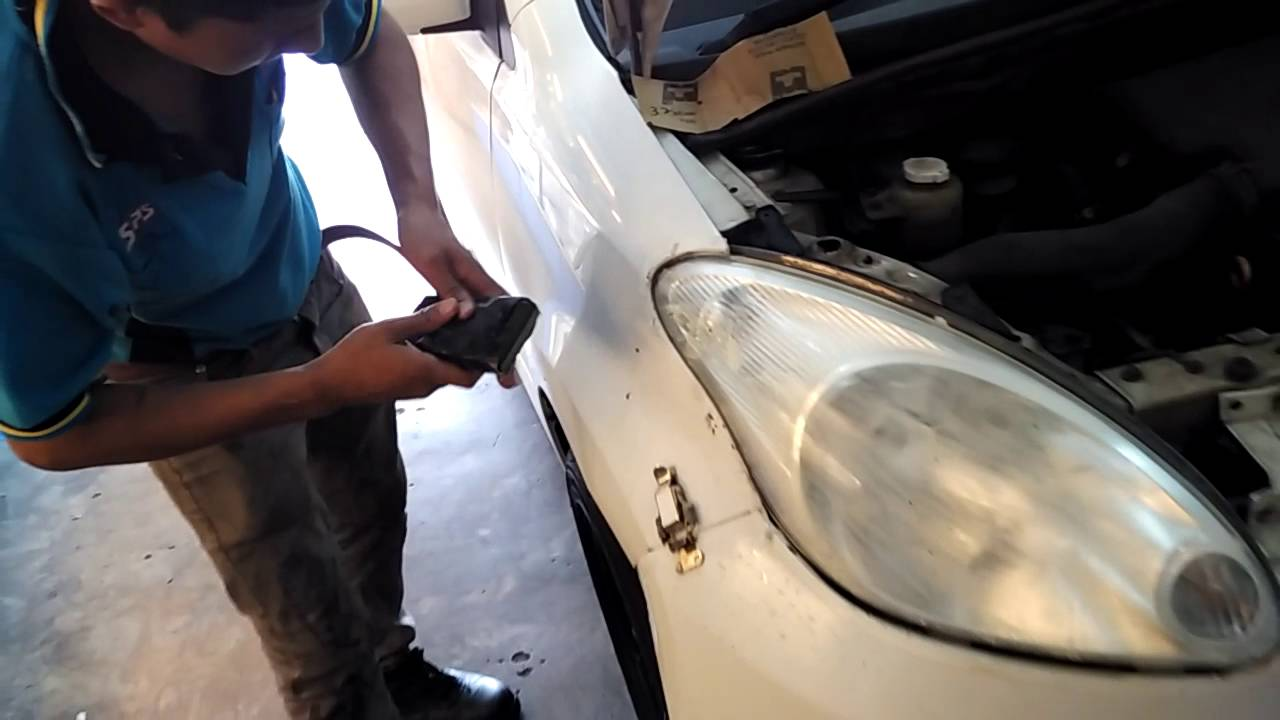 Old Myvi Headlamp Coating Youtube