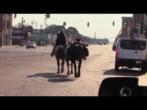 The Cowboy Rides Through Detroit, Michigan