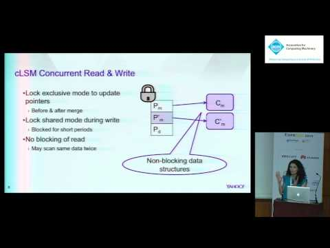 Scaling concurrent log-structured data stores