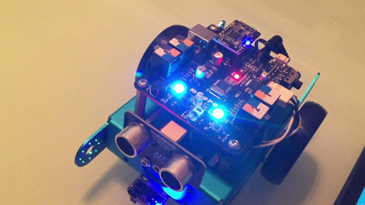 Makeblock Programming Tutorial by 5 Years Old Andy #andystechgarage STEM  mBot
