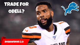 Should Lions TRADE For Odell?! Best WR In The League? Detroit Lions Talk
