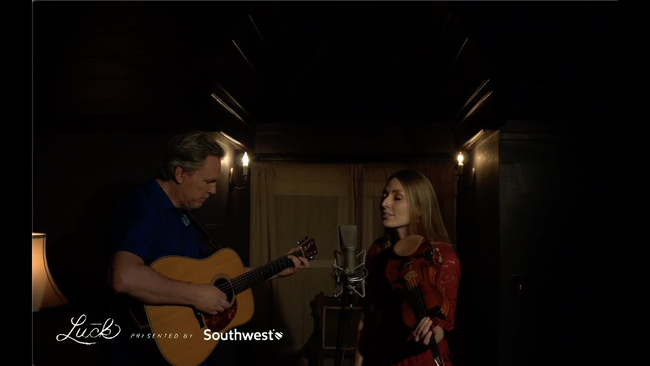 Something To Love - Mark & Maggie O'Connor at Luck Video Booth  AmericanaFest - Jason Isbell Cover