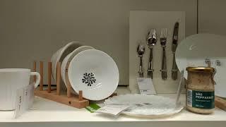 видео ИКЕА: кастрюли и наборы посуды с тарелками