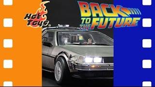 Машина времени ДеЛориан | Back To The Future - DeLorean Time Machine Hot Toys