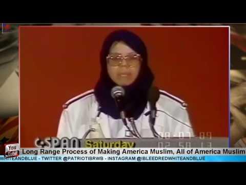 Sharifa Alkhateeb: Making America Muslim, all of America Muslim. CSPAN 1989