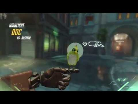 Overwatch Bastion Charge! Achievement