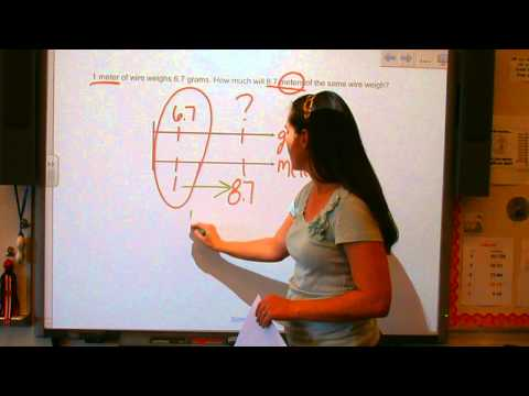 Using Double Number Line Diagrams