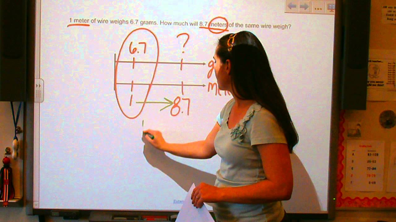 Using double number line diagrams youtube using double number line diagrams pooptronica Images