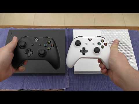 Xbox One X vs Xbox One S - Size Comparison (4K)