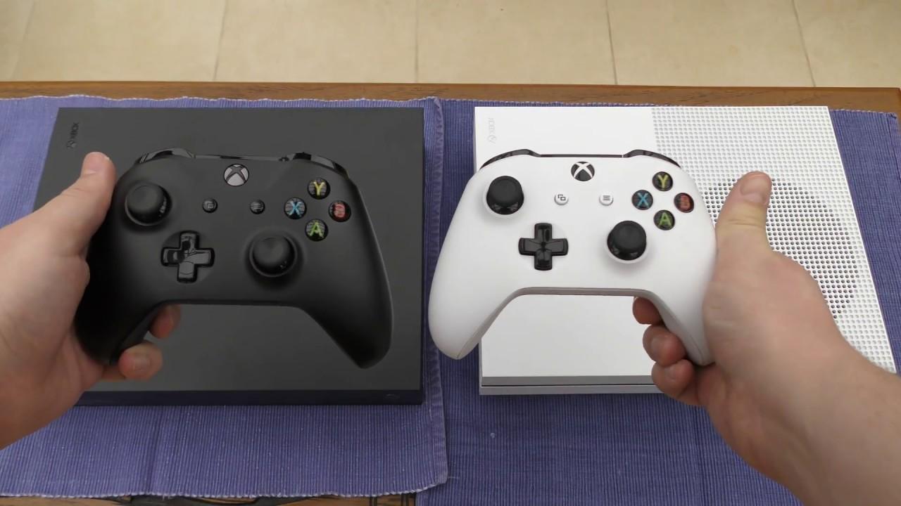 Xbox One X Vs Xbox One S Size Comparison 4k Youtube