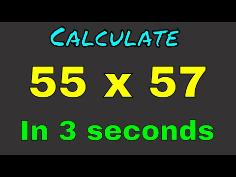 Fast Multiplication Tricks 2-Digit Number [In Hindi]