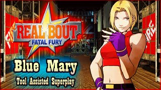 【TAS】REAL BOUT FATAL FURY - BLUE MARY