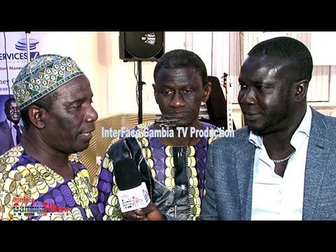InterFace Gambia on Ben TV Wed 12th Apr 2017 with Faks Touray In Birmingham FUN Raising Event