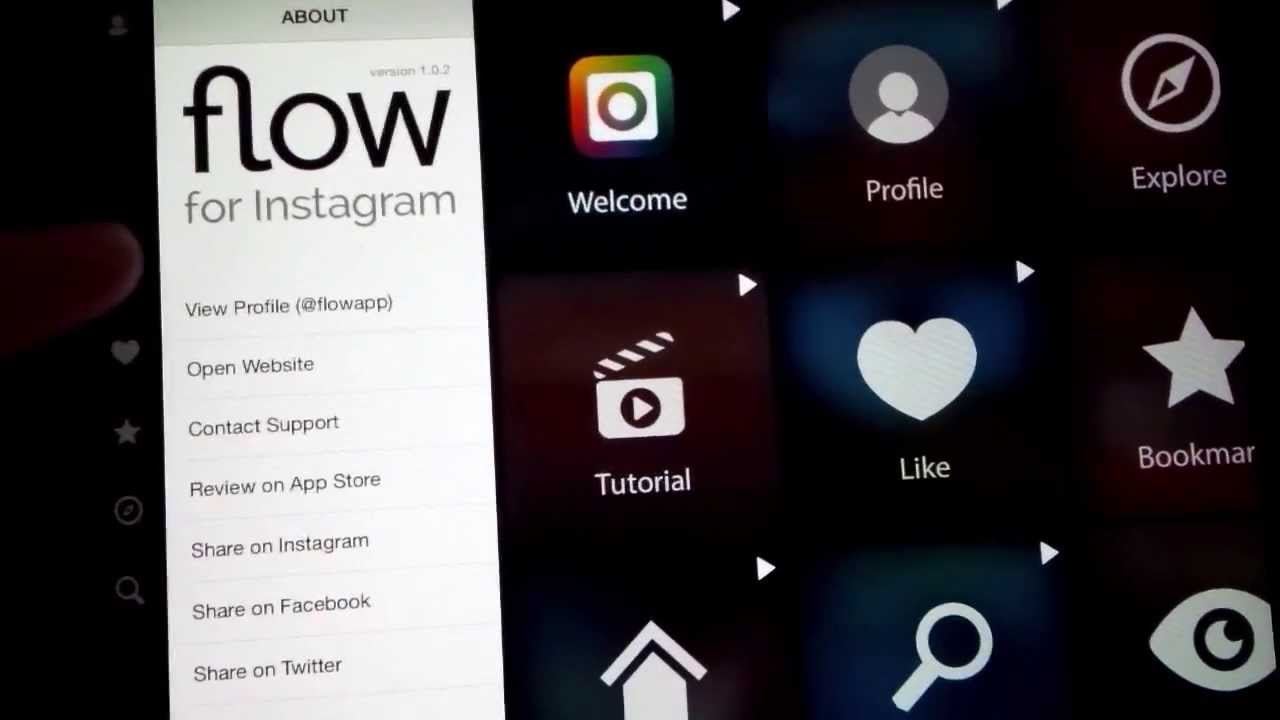 Instagram for the iPad - Flow For Instagram Review & Preview