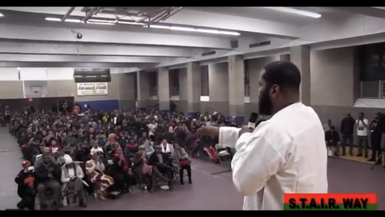 DR. UMAR JOHNSON RAW & UN-CUT IN BRONX, NEW YORK EDUCATION LECTURE PT. 1