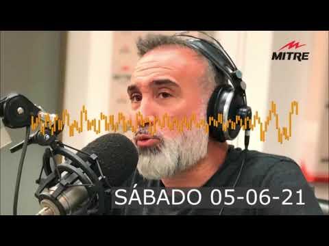 Súper Mitre Deportivo - 04-06-21 - Radio Mitre AM 790 | Pulga Rodríguez y repercusiones de TÉVEZ