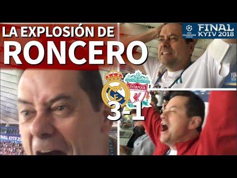 Real Madrid 3-1 Liverpool | La reacción de Roncero a los goles de la final | Diario AS