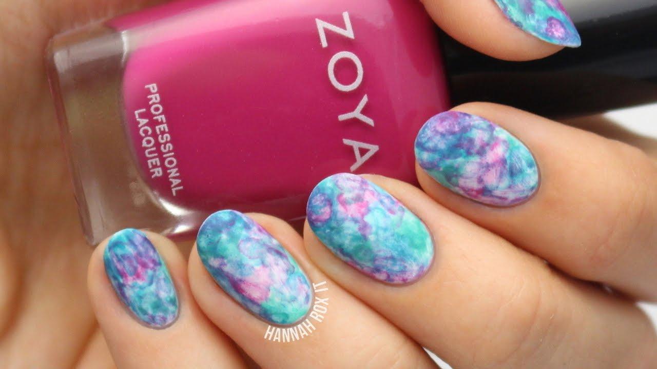 water color nail designs images - nail art and nail design ideas