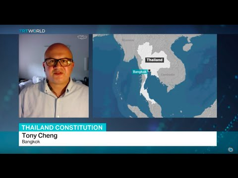 Interview with Tony Cheng on Thailand's new draft constitution