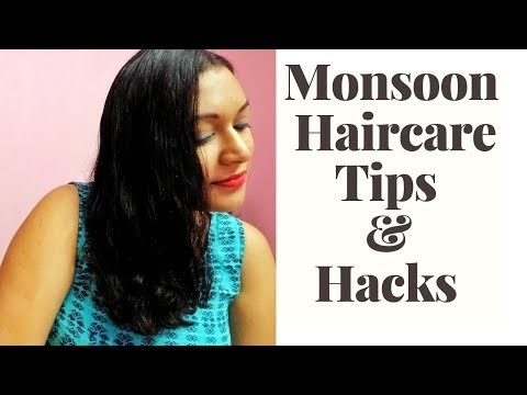 Monsoon Haircare Tips | Tips for Monsoon Haircare | Tips and Hacks for Haircare | Miss Chillaxx