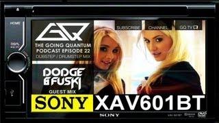 Sony XAV601 BT Mp3 DVD Radio GUI Demonstration