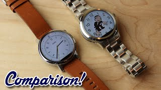 Fossil Q Founder Vs Moto 360 (2nd Gen) -- Which is Better?
