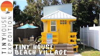 Chill Tiny House Beach Village: A Siesta Key Beach Getaway