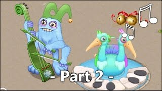 Jingle Bells Song? Quibble & Bowgart Gameplay Part 2   My Singing Monsters