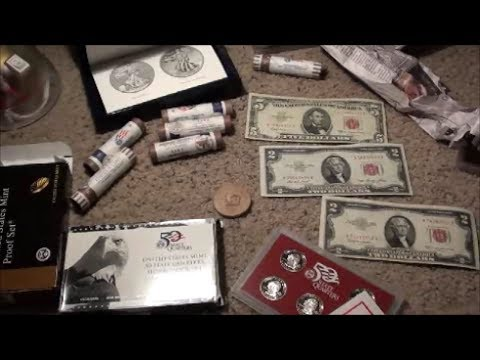 MULTIPLE COIN MINT PROOF SETS, OLD CURRENCY and U.S. MINT COIN ROLLS from Coin Master - Part 2
